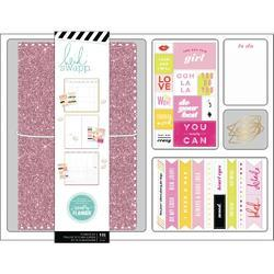 Color Fresh Personal Memory Pink Glitter Planner Boxed Kit - 2