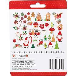 Cozy & Bright Ephemera Icons Cardstock Die-Cuts 40/Pkg - 2