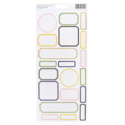 Emerson Lane Cardstock Stickers 61/Pkg - 2