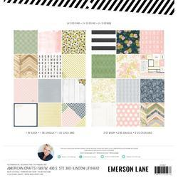 "Emerson Lane Single-Sided Paper Pad 12""X12"" - 2"