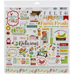 "Farm To Table Collection Kit 12""X12"" - 2"