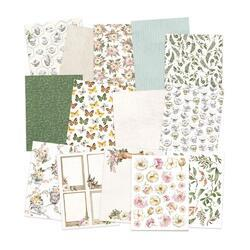 "Forest Tea Party Double-Sided Paper Pad 6""X8"" 24/Pkg - 2"