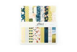 "Goldenrod Single-Sided Paper Pad 12""X12"" - 2"
