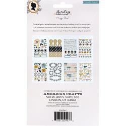 Heritage Sticker Book 297/Pkg - 2