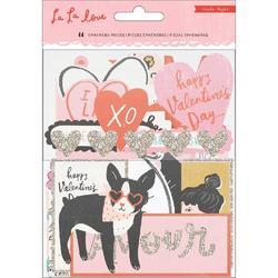 La La Love Ephemera Cardstock Die-Cuts 44/Pkgg - 2