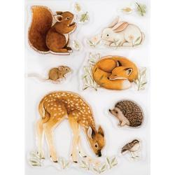 Little Fawns & Friends A5 Clear Stamps - 2