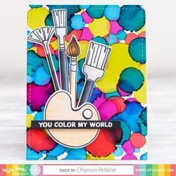 Little Painters Stamp & Die Set - 2