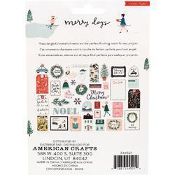 Merry Days Ephemera Cardstock Die-Cuts 40/Pkg - 2