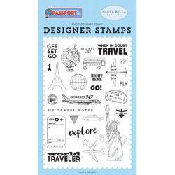 Passport Stamps Get Set Go - 2