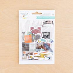 Sharp Project Life Ephemera Die-Cut Shapes 40/Pkg - 2