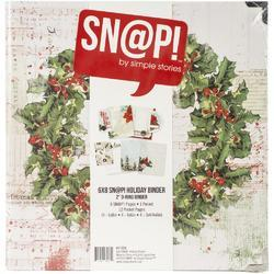 """Simple Stories Sn@p! Binder 6""""X8"""" Country Christmas - 2"""