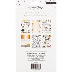 Snowflake Sticker Book 250/Pkg - 2