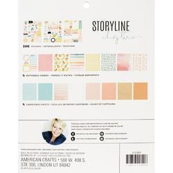 "Storyline Chapters Journaler Project Pad 7.5""X9.5"" 122pcs - 2"