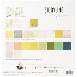 "Storyline Chapters Project Pad Set 12""X12"" 179pcs - 2"