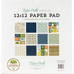 "Summer Adventure Single-Sided Paper Pad 12""X12"" - 2"