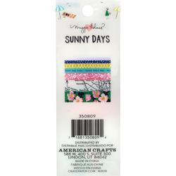 Sunny Days Washi Tape 7/Pkg - 2