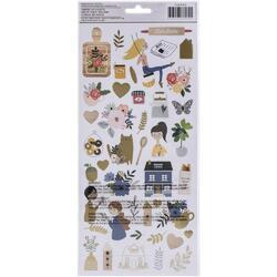"The Avenue Cardstock Stickers 6""X12"" 80/Pkg - 2"