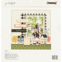 """The Avenue Single-Sided Paper Pad 12""""X12"""" - 2"""