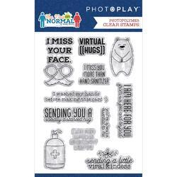 The New Normal Phrase Photopolymer Stamp - 2