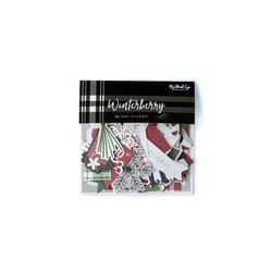 Winterberry Mixed Bag Cardstock Die-Cuts 56/Pkg - 2