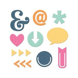 Albums Made Easy Icons Dies 10pkg - 2