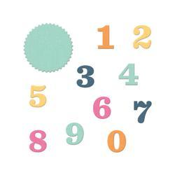 Albums Made Easy Numbers Dies 11pkg - 2