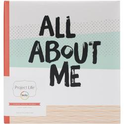 "All About Me D-Ring Planner Album 6""x8"" - 2"