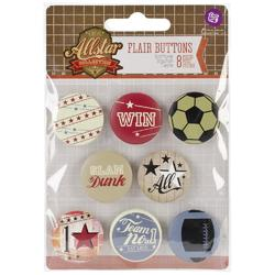 Allstar Flair Buttons - 2