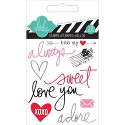 Always Mixed Media Clear Mini Stamps - 2