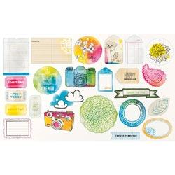 Sketchbook - Bits Die Cut Shapes - Amy Tan - 2