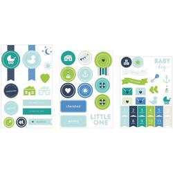 Baby Boy Project Life Chipboard Stickers - 2