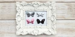 Bella Rouge Sequin Butterflies 4 pkg - 2