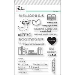 "Bibliophile  Clear Stamp Set 4""x6"" - 2"