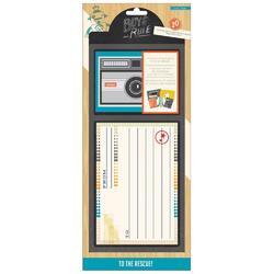 Boys Rule Journaling Cards 20/Pkg - 2