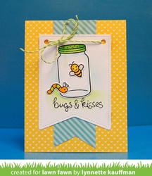 Bugs & Kisses Clear Stamps - 2
