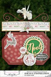 Candy Cane Lane Ornament - NOEL - 2