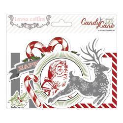 Candy Cane Lane Ephemera Cardstock Die-Cuts - 2
