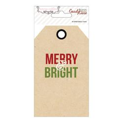 Candy Cane Lane Cardstock Tags 20 pkg - 2