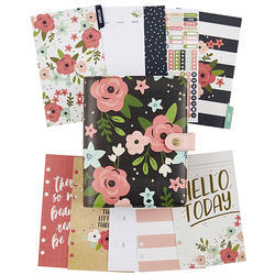 Carpe Diem PERSONAL Planner Boxed SET Black Blossom - 2