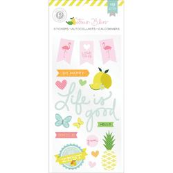 Citrus Bliss Puffy Stickers - 2