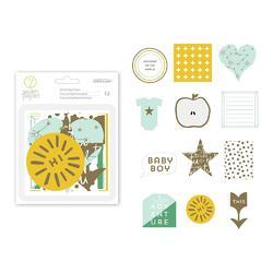 Clara Boy w/Gold Foil Die-Cuts 12 pkg - 2