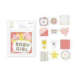 Clara Girl w/Gold Foil Die-Cuts 12 pkg - 2