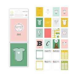 """Clara Journaling Cards 3""""x4"""" - 2"""