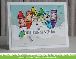 Color My World Clear Stamps - 2