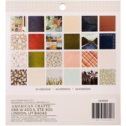"Creekside Single-Sided Paper Pad 6""X6"" 36/Pkg - 2"