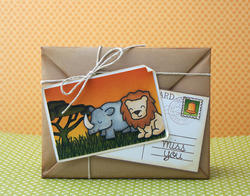 Critters On The Savanna Clear Stamps - 2