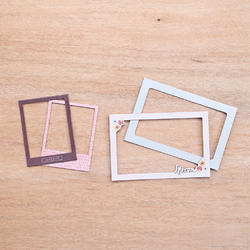 Currently Die-Cut Chipboard Photo Frames - 2