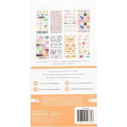 Designer #Sticker Book Amy Tan w/Gold Foil - 2
