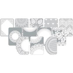 Doily Project Life Photo Overlays 12 pkg - 2