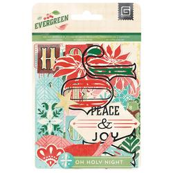 Evergreen Cardstock Die-Cuts & Transparencies - 2